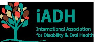 Logotipo de la International Association for Disability and Oral Health (iADAH)